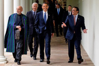 Barack Obama Hamid Karzai and Asif Ali Zardari 400